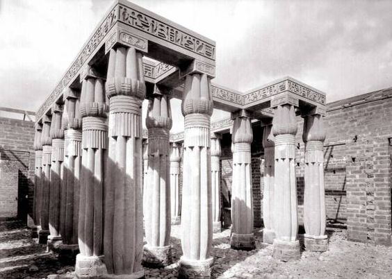 egyptian palaces | Egyptian Palace built by Dr. Fernando Estrada, Medellin, 1932 ...