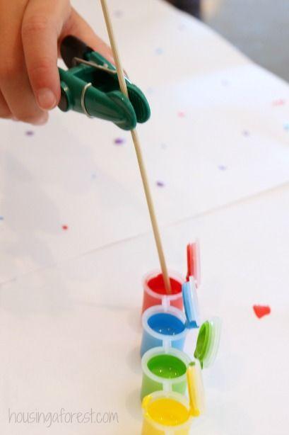 formas alternativas de pintar sem usar o pincel | Reab.me