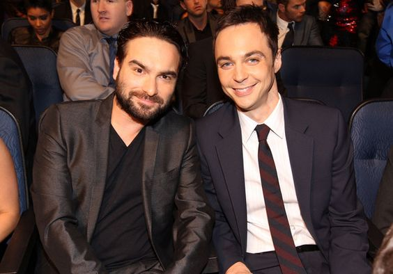 Johnny Galecki and Jim Parsons.