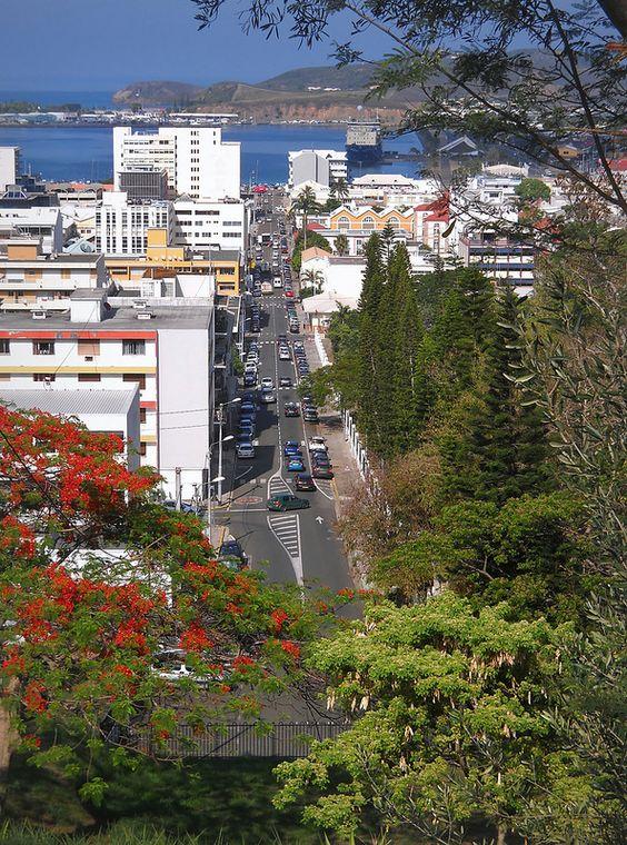 Rue de la République, Nouméa, New Caledonia