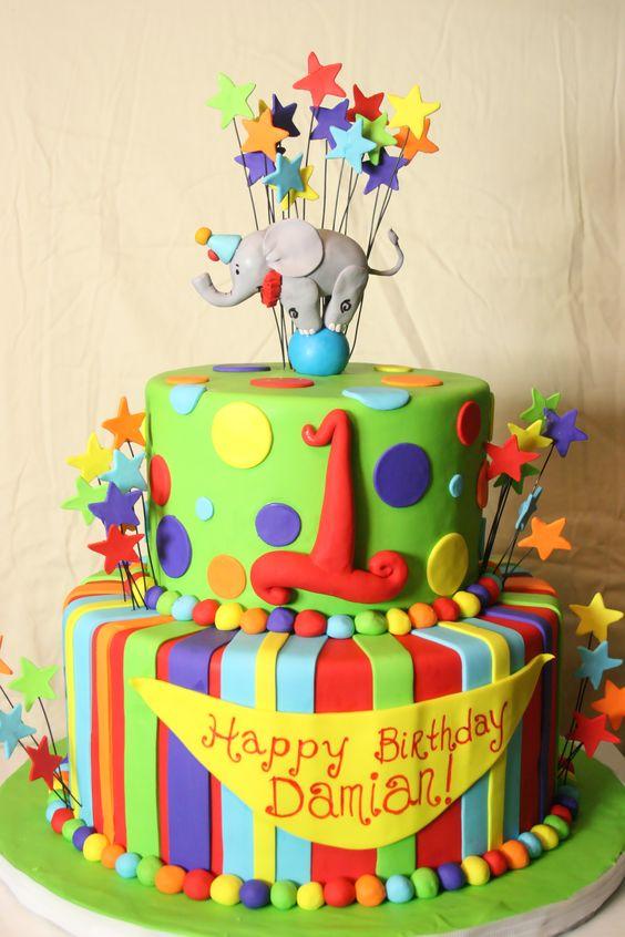 Vanilla Carnival Cake