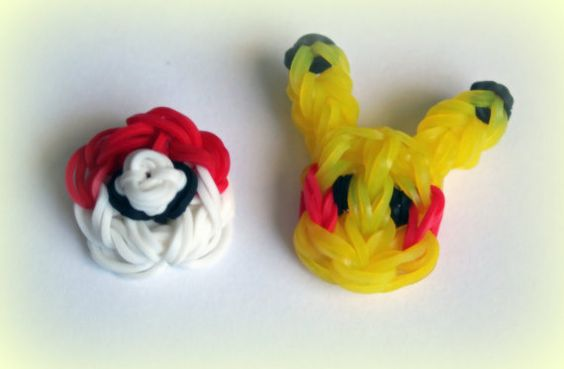Pokemon Rainbow Loom Rubber Band Charms  by PurplePenguinLooming, $2.99