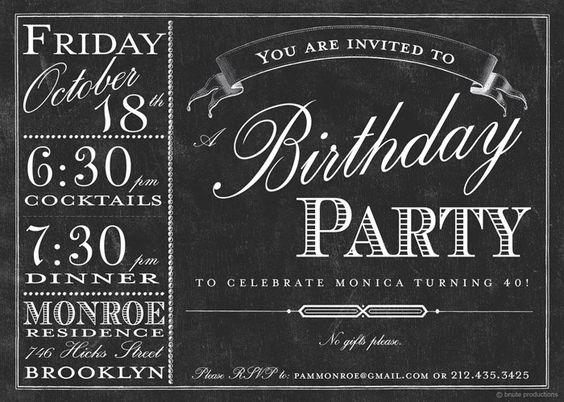 einladung - design idee | 30er | pinterest | einladungen, designs, Einladungen