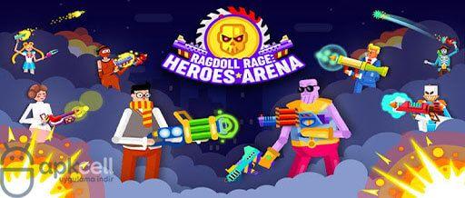Ragdoll Rage Heroes Arena V1 0 18 Mod Apk Para Hileli Heroes Android Oyun