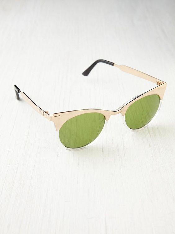 Free People Half and Half Sunglasses, $38.00