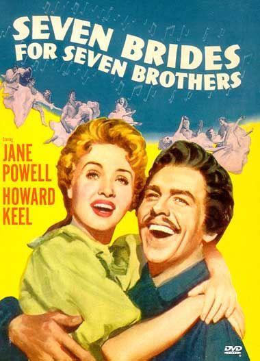 Seven Brides For Seven Brothers. 1954. Jane Powell. Howard Keel. Jeff Richards.