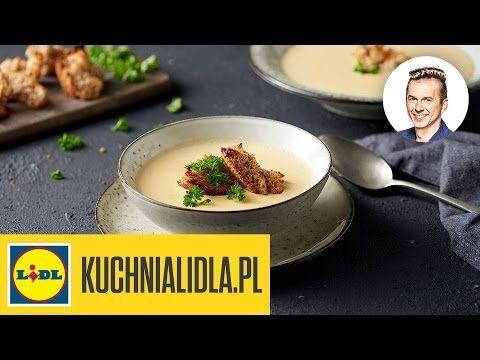 Zupa Serowo Cebulowa Przepis Karola Okrasy Youtube Recipes Lidl