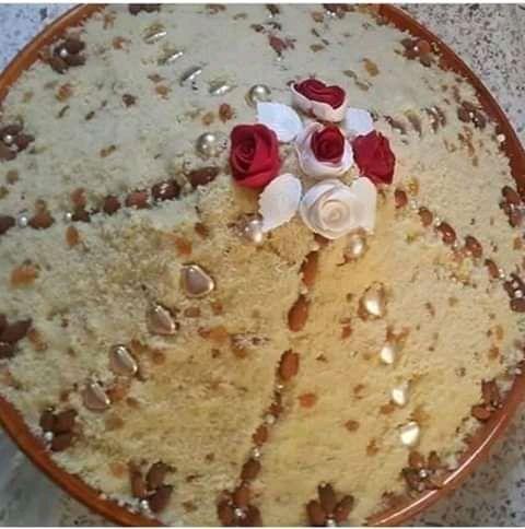 كسكس السفة او الطعام الحلو Algeria Desserts Cake Food
