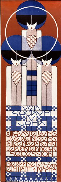 By Kolo Moser (1868-1918), 1902, Exhibition of the Vienna Secession.: