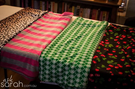 Sew: One Seam Stretch Skirt | Ask Sarah