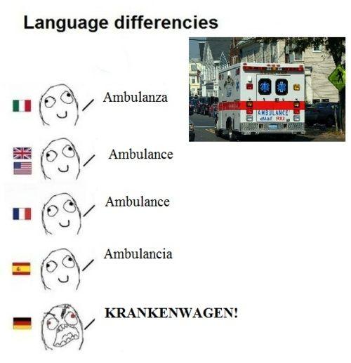 Image result for german ambulance meme