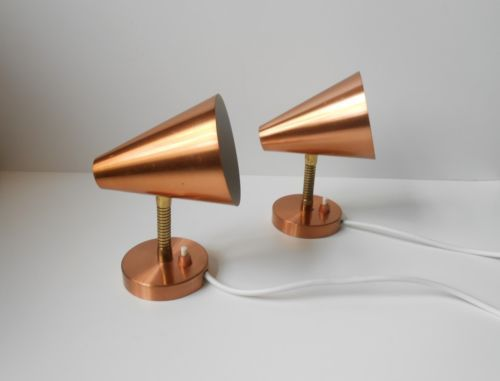 Copper wall, Wall lights and Mid-century modern on Pinterest