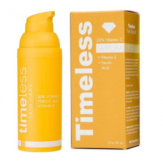 20 Vitamin C E Ferulic Acid Serum 30 Ml Timeless Skin Care