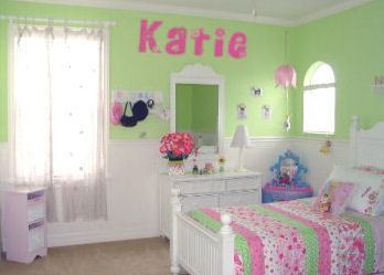 Gallery For Girls Bedroom Ideas Pink And Green