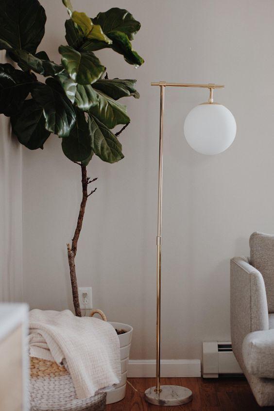 Pendula Gold Floor Lamp In 2020 Gold Floor Lamp Floor Lamp Bedroom Floor Lamps Living Room