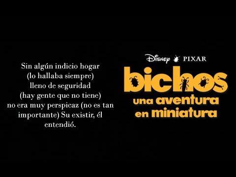 Bichos Hora Es De Vivir Canción Completa Con Letra Youtube Canciones Bichos Disney