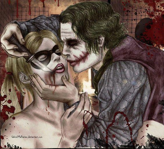 Harley Quinn and Joker:
