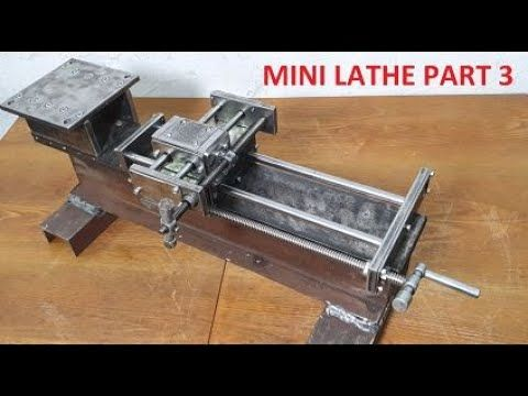 12219 Budowa Tokarki Homemade Mini Lathe Part 3 Youtube In 2020 Lathe Parts Homemade Lathe Lathe