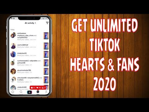 How To Get Unlimited Tiktok Hearts Fans 2020 How To Get Unlimited Tiktok Fans 2020 Youtube How To Get Online Business How To Start A Blog