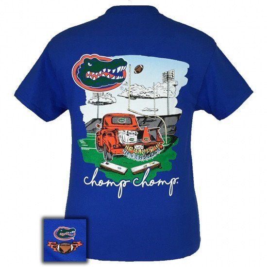 Florida Gators Tailgates and Touchdowns! This classic fit pre-shrunk jersey knit…