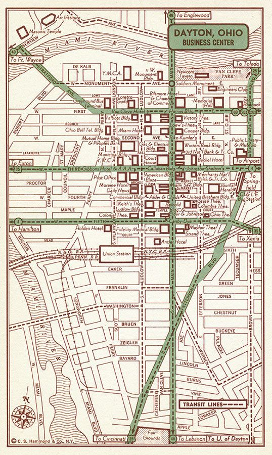 Old Map Of Xenia Ohio Usa Show Maps Images: Old Map Of Xenia Ohio At Usa Maps