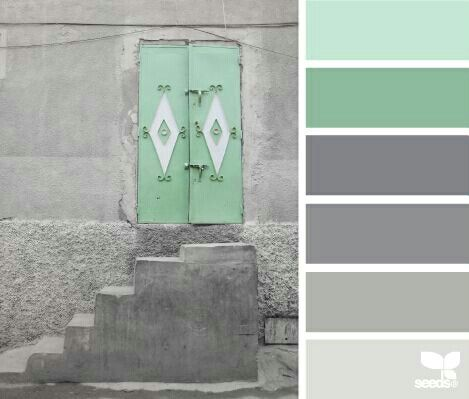 Green Color Palettes Upstairs Bathrooms And Green Colors