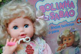 boneca bolinha de sabão