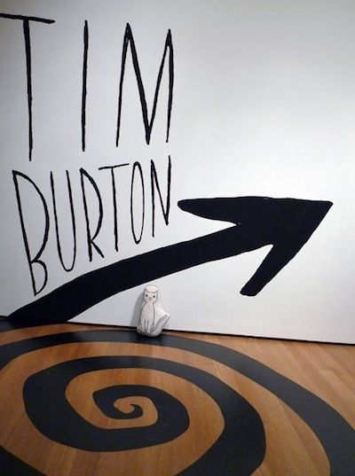 Tim Burton exhibit at MoMA.  I missed it--I was too busy to fly up to NY at the time!