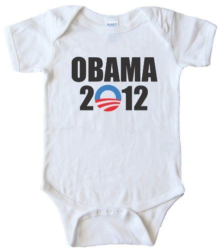 BABY ONESIE - OBAMA 2012 -White (6 MONTH) More Rabbit, Dads Lucky, T-Shirt, Stars War Baby, 6 Months, Baby Clothing, Baby Onesie, Baby Shower, Baby Stuff IM CUTE - MOMS CUTE - DADS LUCKY - BABY ONESIEWhite (6 MONTH) Rabbit Skins,http://www.amazon.com/dp/B008R7SN7A/ref=cm_sw_r_pi_dp_bSPntb0HXNS18A90 Cute Baby girl Clothes Product | ... BABY ONESIE (cute baby clothes for boys, cute baby clothes for girls BABY ONESIE - FUTURE NERD Light Yellow (6 MONTH) Rabbit…