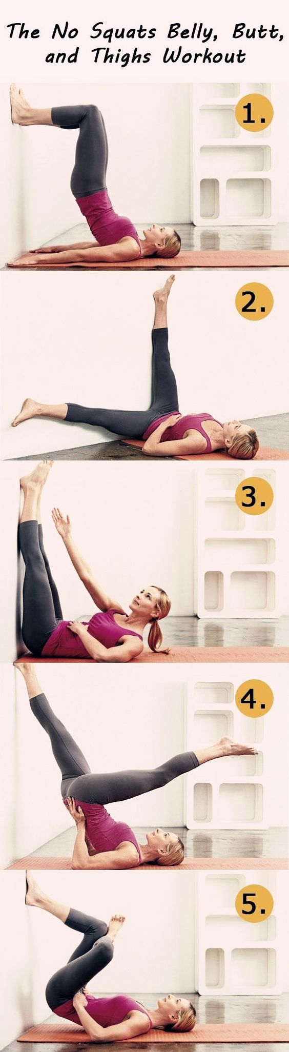 flatten your belly, slim your thighs, and firm your butt.