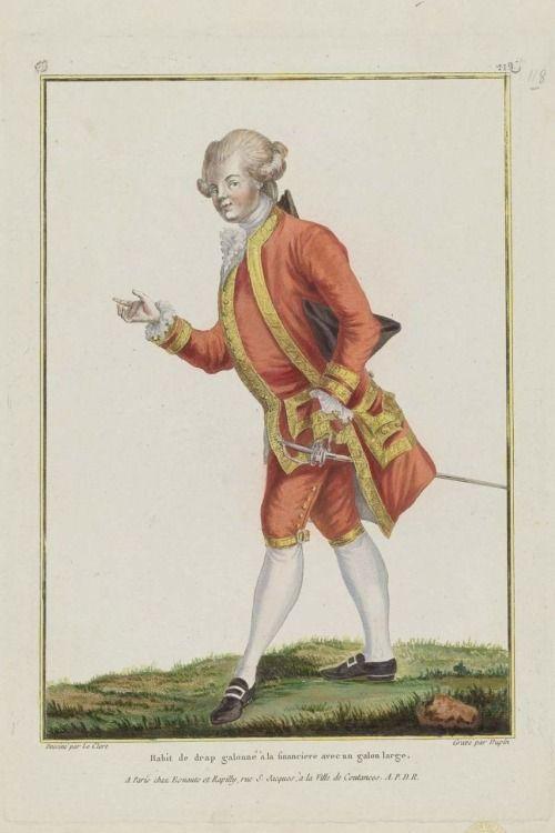Gallerie des Modes, 1779: