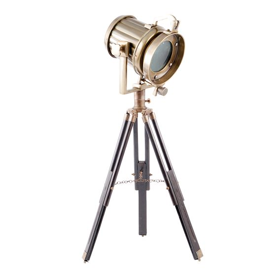 Magnesia Temple Lamp, a modern tripod lamp with a vintage feel.  Designed by Beekman 1802 in Sharon Springs, NY