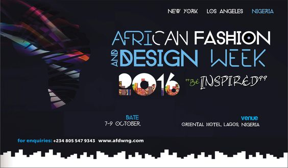African Fashion And Design Week 2016: The Continents Runway Showcase Returns For Its 5th Edition