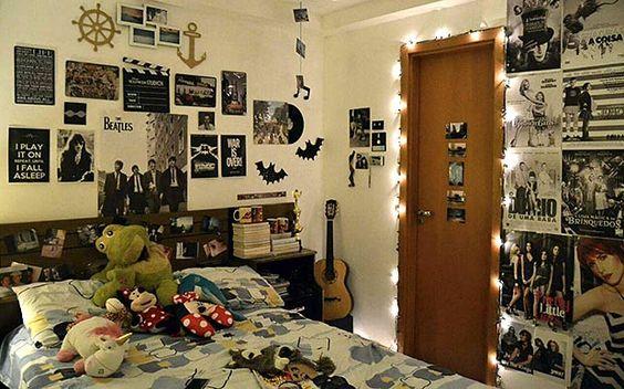 decoracao de quarto feminino vintage tumblr Pesquisa  ~ Quarto Retro Tumblr