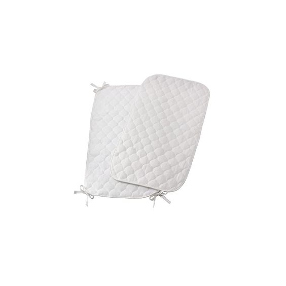 Royal Heritage 2pk Quilted Terry Sheet Saver -
