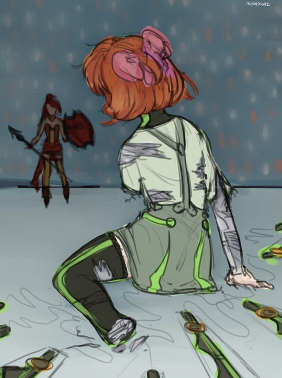 RWBY - Penny vs Pyrrha.