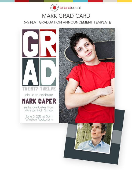 Graduation digital work inspiration pinterest design graduation announcements and graduation for Graduation announcements pinterest