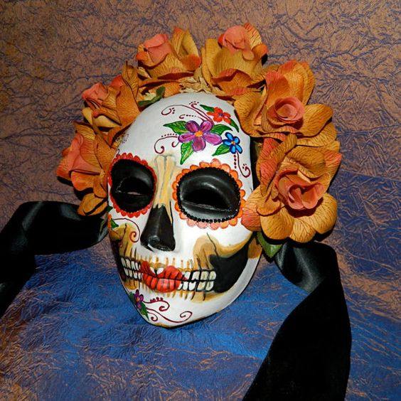 Another lovely Dia de los Muertos mask