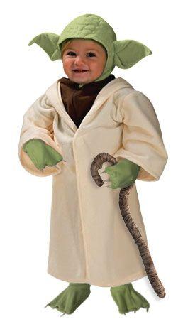 zombie style dress up yoda