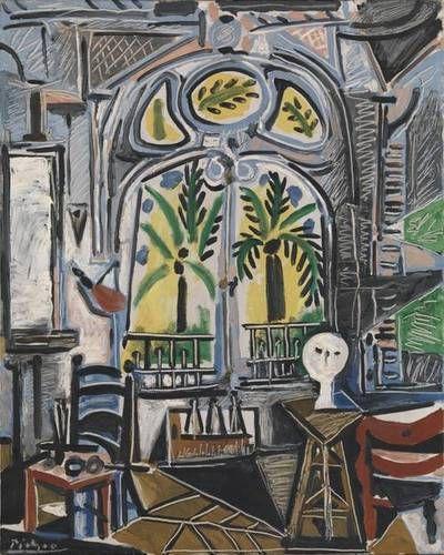 """""""The Studio"""", 1955, Pablo Picasso."""