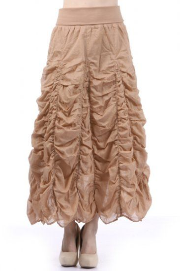 100 percent Cotton 1S/1M/1L Per Pack Beige, Olive, Black, White This HIGH QUALITY skirt is A POWER SELLER!! Made from a super comfortable cotton fabric, this absolutely beautiful fully lined skirt is hand washable, and fits true to size.
