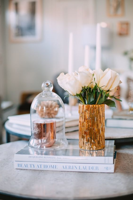Tips For Decorating Your Coffee Table | theglitterguide.com: