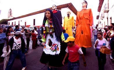 Utilizadas en festividades de Pátzcuaro