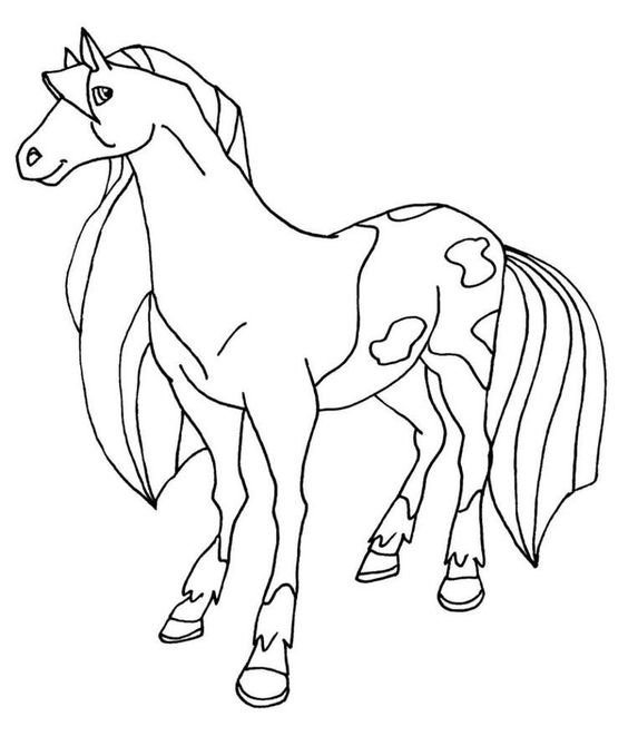 Horseland Coloring Pages Calypso Horse Coloring Pages Coloring Pages Coloring Pictures