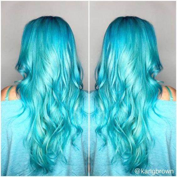 Blue Hair Color Trend Best Looks