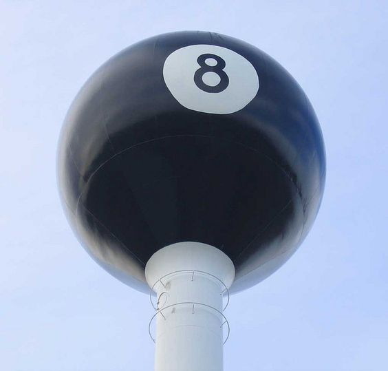 8 Ball Water Tower Tipton, Missouri my brother and I grew up in Tipton Mo. My family owned the Schmidt Lumber Co.
