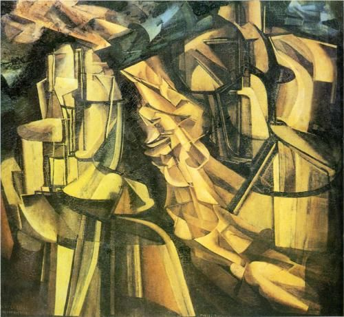 Marcel Duchamp: King and Queen surrounded by swift nudes