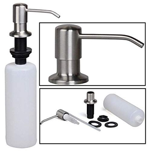 Amazon Com Soap Dispenser For Kitchen Sink Stainless Steel