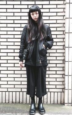 時尚穿搭:ALL BLACK