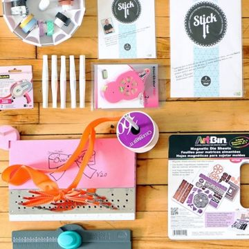 We've rounded up twelve of our most-loved products from January! If you missed them the first time around, now is your chance to stock up! The Bow-It-All, We R Memory Keepers envelope punch, and the ever-popular Stick It are just a few of the items you loved this month. #blitsybuys